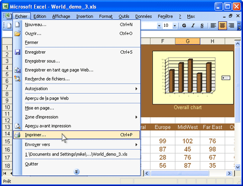 Convertir une feuille de calcul excel en un fichier image for Ouvrir plusieurs fenetre excel