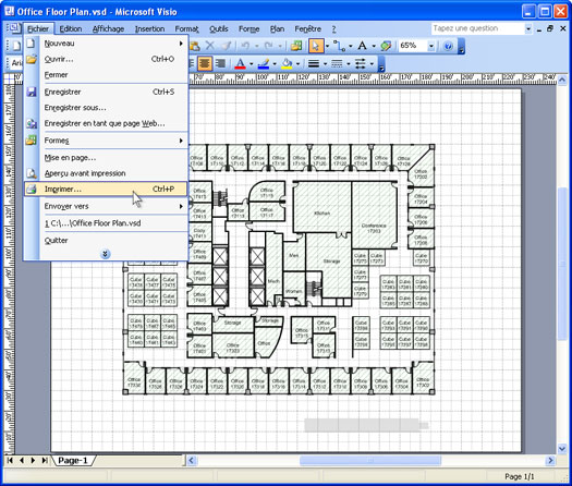 Convertir Un Plan Visio En Un Fichier Pdf Universal